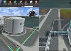 工业流程3D模拟展示、工厂生产可视化数据系统