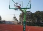 A型地埋式方管篮球架QR2012-温州篮球架-强锐体育