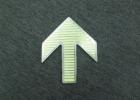 蓄光自发光地面导向标识 不锈钢发光地标