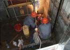 东莞电梯井渗水漏水维修,东莞电梯房防水补漏堵漏
