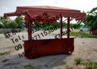 街道户外售货亭价格 防腐木售货亭制作结构