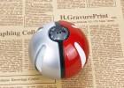 热卖精灵球移动电源套料 4节18650 充电宝半成品