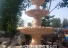 河北曲阳生产石雕石材花钵、石雕花钵喷泉图片集