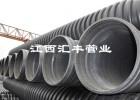 惠风电热熔式HDPE缠绕增强管质量保证优质服务