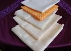 餐厅口布方巾