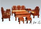 缅甸花梨沙发八件套 选王义红木家具 享奢华幸福人生