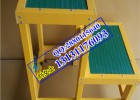 绝缘高低凳生产厂家;玻璃钢绝缘高低凳;顺本1.2米绝缘高低凳