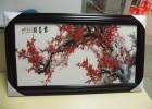 艺术玻璃挂画uv喷印加工 透明玻璃3D效果打印 uv彩绘