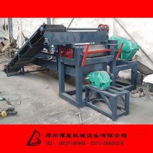 对滚式胶粉成型机 自动筛分橡胶磨粉机 400橡胶磨粉机