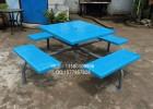 室外铁质桌椅,景观成品桌椅,园林铁艺桌椅