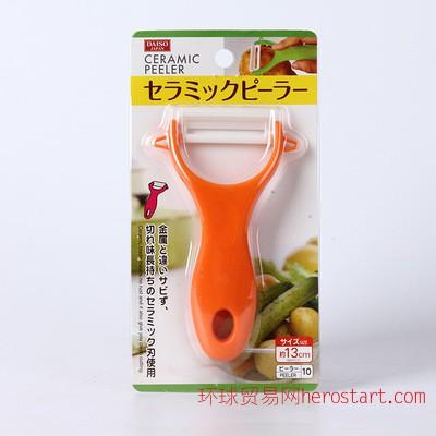 日本热卖刨子削皮刀 水果苹果削皮器蔬菜去皮刨刀 刨皮器刮刀