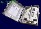 36芯光纤分纤分光箱—室内外两种使用场景