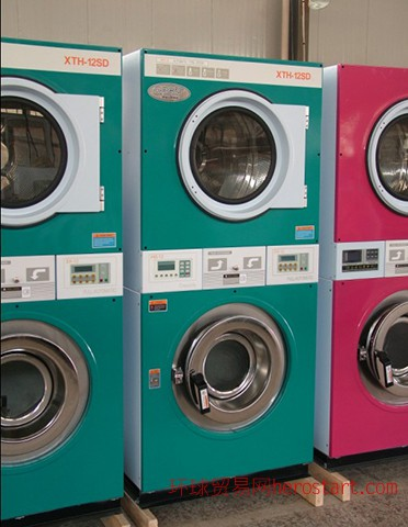 双层投币洗衣机2