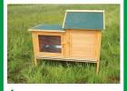 手工制作的木制兔窝YQ880240