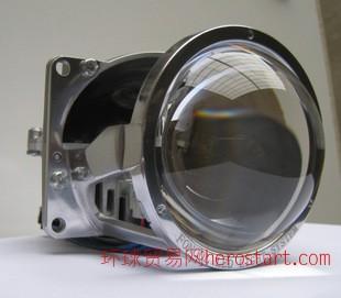 led 透镜led双光透镜汽车led大灯透镜改装天使眼透镜汽车前大灯
