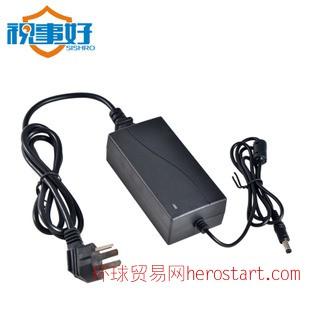 监控电源双输线 12V5A 摄像头电源 电源适配器