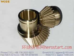 精密铸造铜齿轮,铸铜齿轮,铸造锥齿轮,铸铜锥齿轮,bevel gear