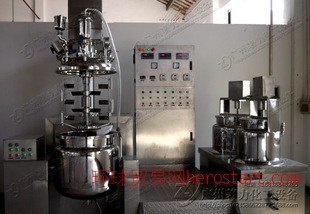 乳化罐化工制膏机液压升降乳化机等高端反应锅
