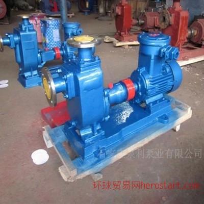 125ZW120-20型铸铁自吸排污泵/化工自吸泵/污水泵