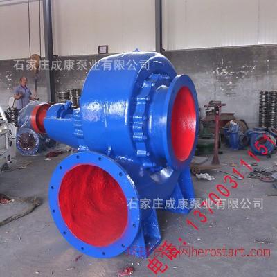 250HW-12卧式大流量农田排灌混流泵
