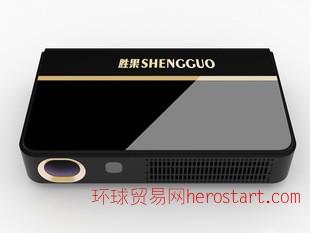 3D智能高清微型投影仪 1080P无屏电视无线WIFI家用商用一体投影机