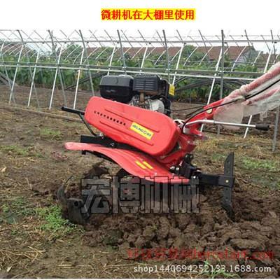 大中小型旋耕机 土壤耕整机械 柴油多功能微耕机