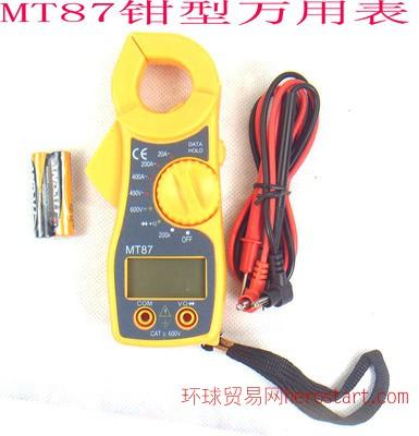 数字钩表87系列 迷你钳型表MT87 数字万用表