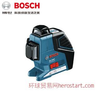 Bosch/博世GLL3-80P激光水平仪尺 红外线十字线标线仪 高精度