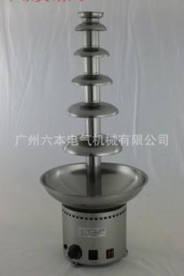 D20097商用巧克力 6层不锈钢朱古力喷泉瀑布机