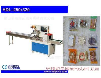 广州全自动 饼干包装机 包装机械 卧式