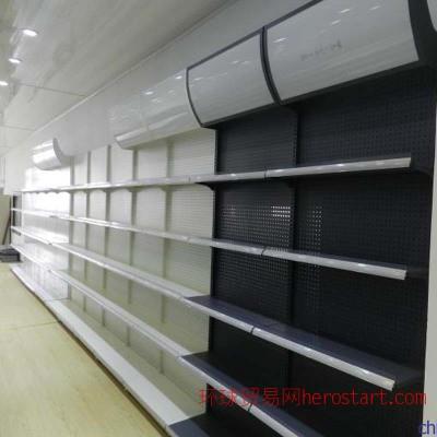 商场化妆品拆装组合背孔挂钩灯箱超市 灯箱货架展示架