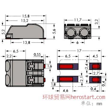 MJ72-2P尺寸全图