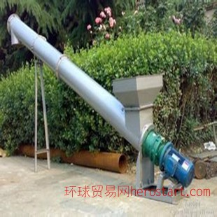 管式螺旋输送机 U型螺旋输送机