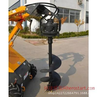 水果种植挖沟机、大功率种植机、优质拖拉机挖坑机一机多用