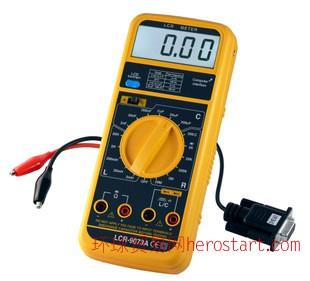 德国/RLC测量仪 LCR 9037A/RS-232接口和软件/液晶显示/精确