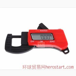 0-12.7mm 数显厚度计 碳素测厚仪