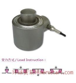 10-50T柱式称重传感器,地磅秤CZL402柱式称重传感器,抗压性好