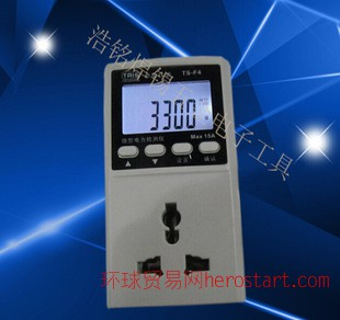 泰圣TM9微型电力监测仪/便携功率计智能插座/功率测量仪表