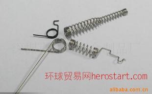 不锈钢材质异形弹簧 压簧 电池片弹簧