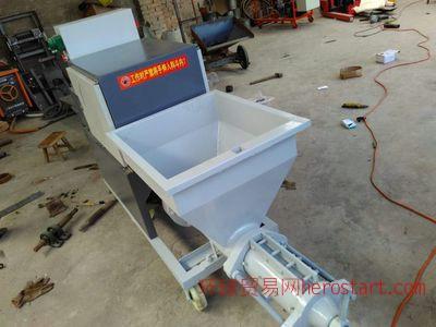 新建筑装修机械水泥砂浆喷涂机 墙体抹水泥砂浆做的快效率高