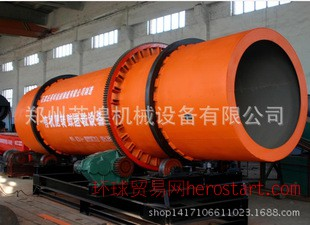 磷肥滚筒式烘干机 硫胺化肥滚筒烘干机 郑州大小型滚筒烘干机