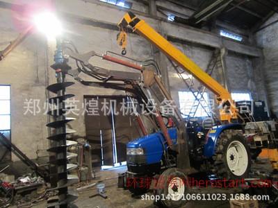 电线杆, 植树挖坑机 拖拉机配套挖坑机 挖坑立杆一体机