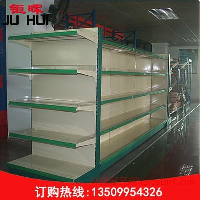 订做批发超市货架 单面双面层格式货架 商超货架设备JH-22