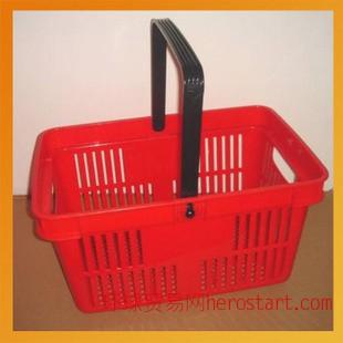 商用购物篮 便携式塑料手提篮