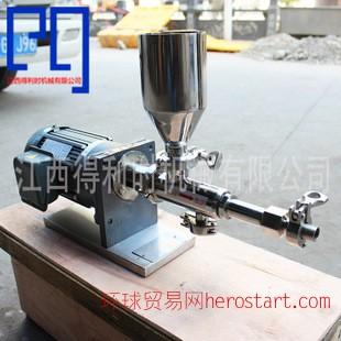 型号RV微型计量泵小型单螺杆泵 计量加药泵 微型螺杆泵