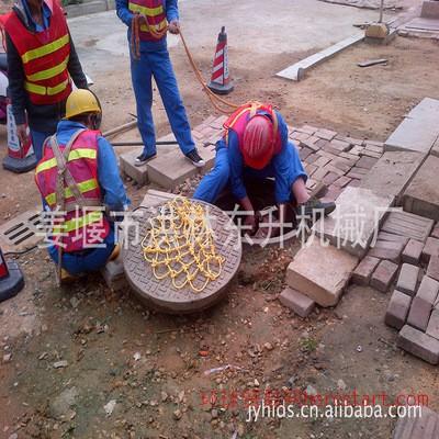 窨井盖下水道防坠网 聚乙烯安全网 可定制尺寸大小
