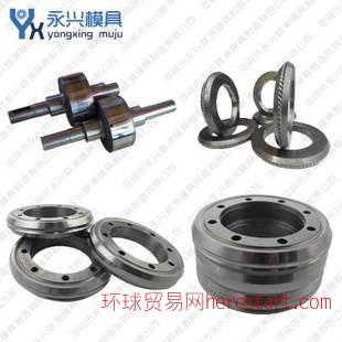 硬质合金轧辊 钨钢螺纹冷轧辊 Cr12MOV钢筋轧辊