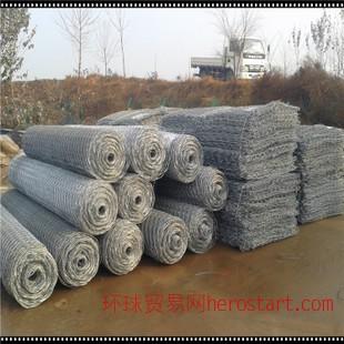 镀锌石笼网 河道治理 石笼网厂家 养殖防护用
