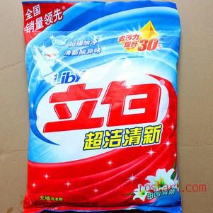 零售立白1.55kg洗衣粉水精灵洗衣粉包邮