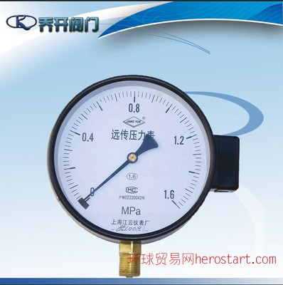 不锈钢差动远传压力表YTZ   上海自动化仪表三厂压力表
